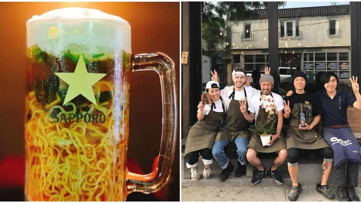 Beer Ramen Now Exists In Toronto And It Needs To Be On Your Fall Bucket List