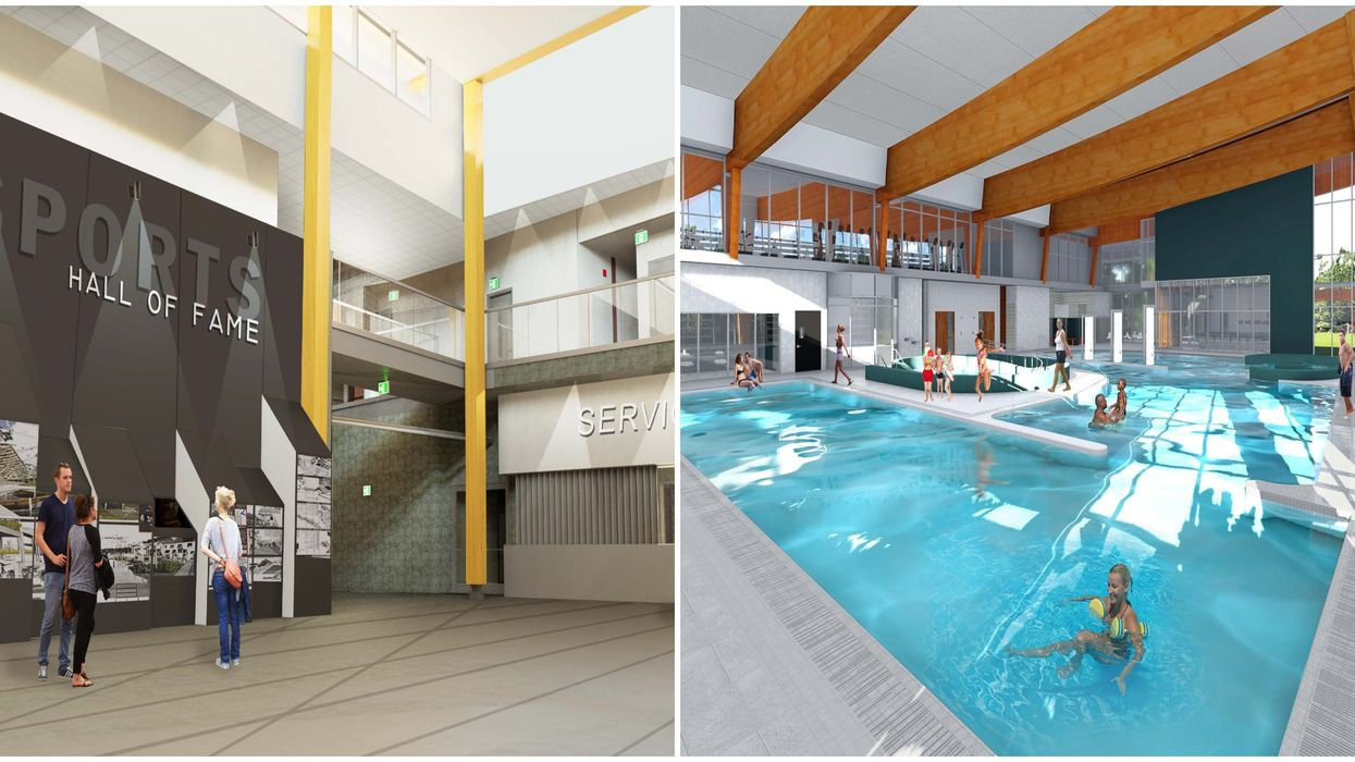 $132 Million Rec Centre Opens In Port Coquitlam With A Giant Pool And 2 Hockey Rinks