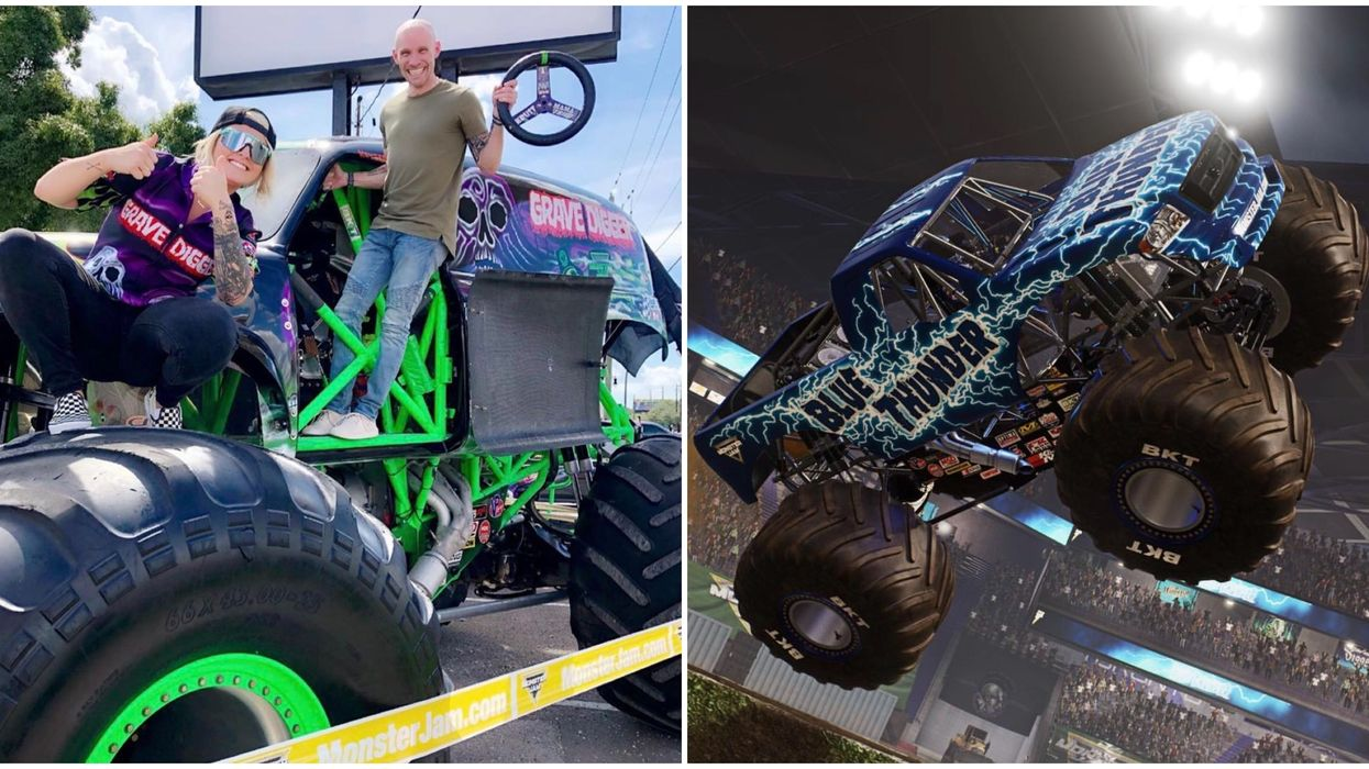 You Can Watch Huge Monster Trucks Do Insane Tricks At This Georgia Show In September