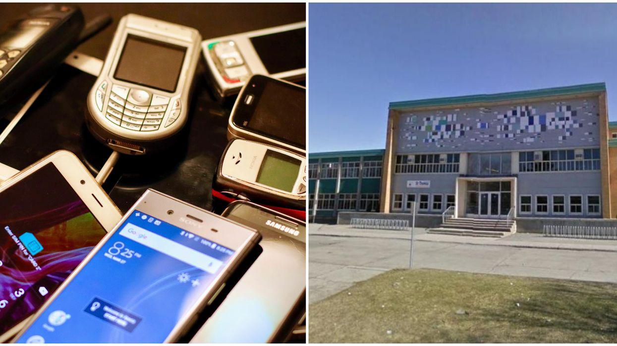 Cellphone ban at MTL high school