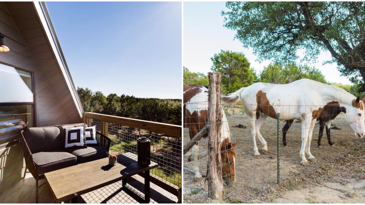 This Stunning Retreat Near Austin Allows For A Weekend Escape From The City Life