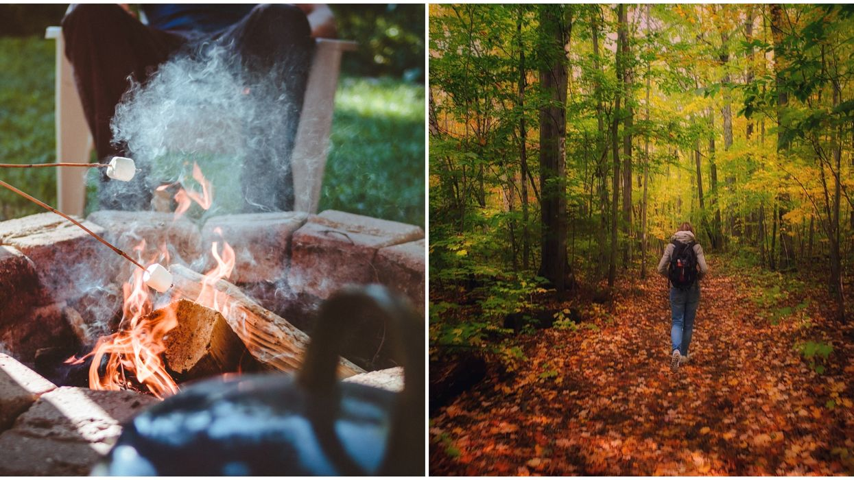 7 Spontaneous & Beautiful Camping Trips To Take From Toronto To Light Up Your Fall