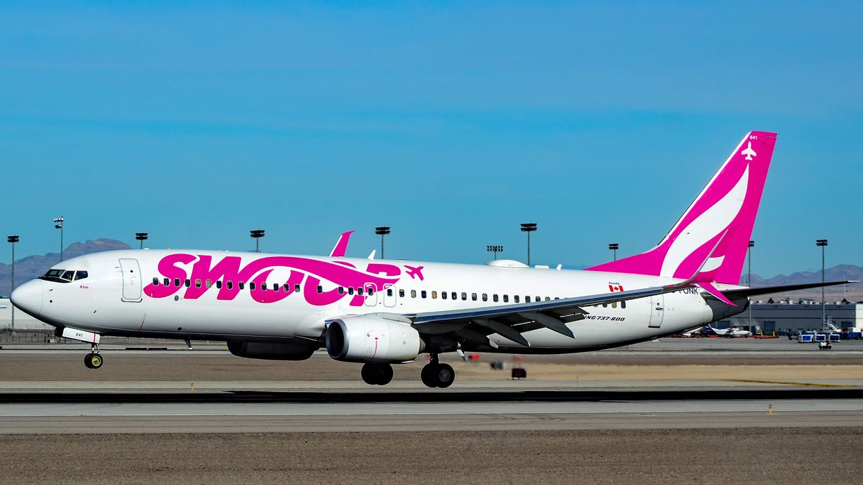 Swoop Plane Forced To Make Emergency Landing After Someone Lit A Cigarette On Board
