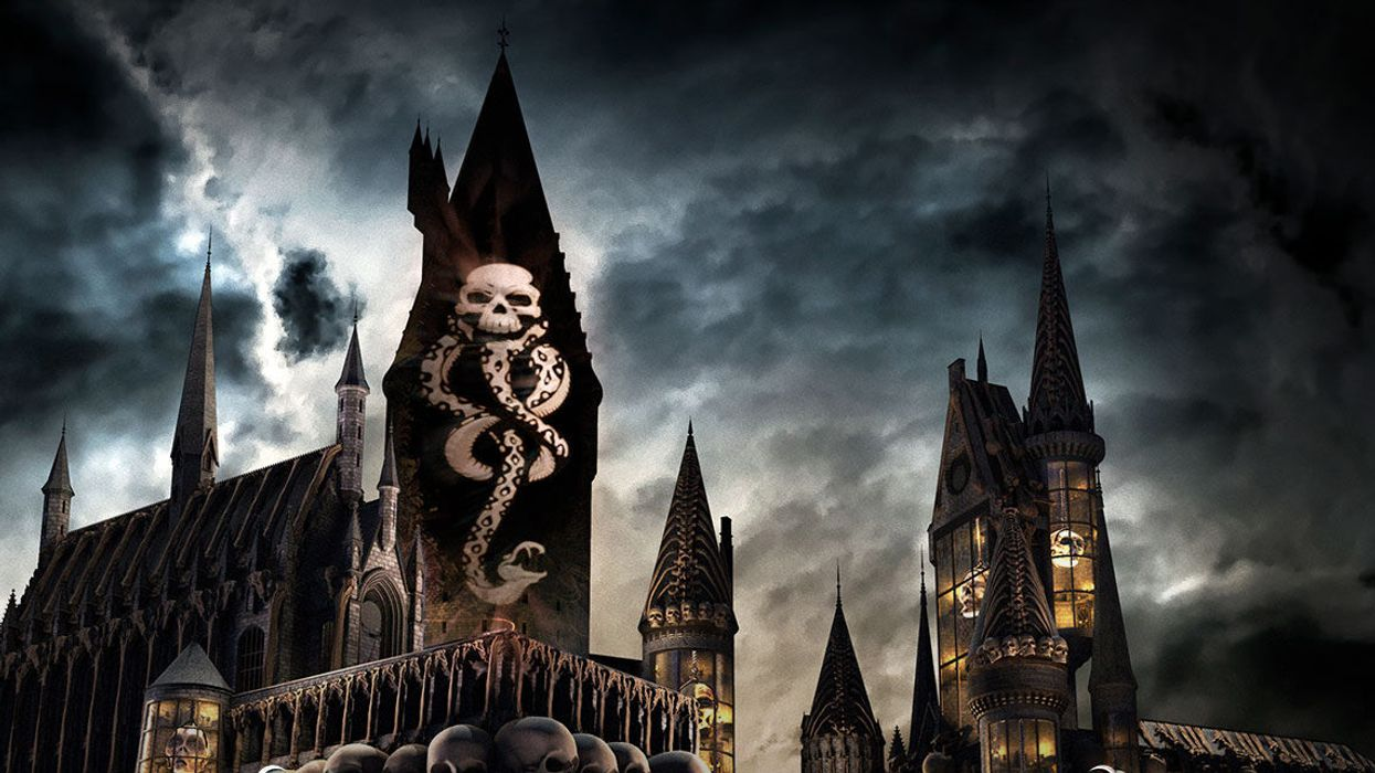 It's Official, The Dark Arts Are Coming To Hogwarts Castle In Orlando This Month