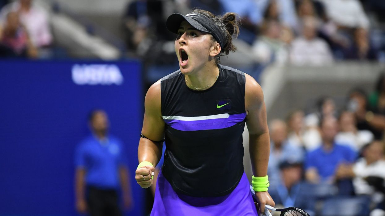 Bianca Andreescu's Game On Wednesday Made History Not Just For Canada But For TSN