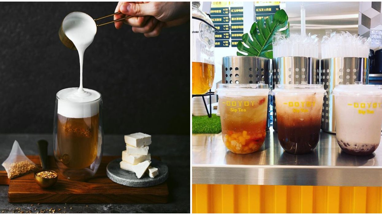 This New Toronto Drink Shop Serves Creamy Cups Of Cheese-Infused Tea