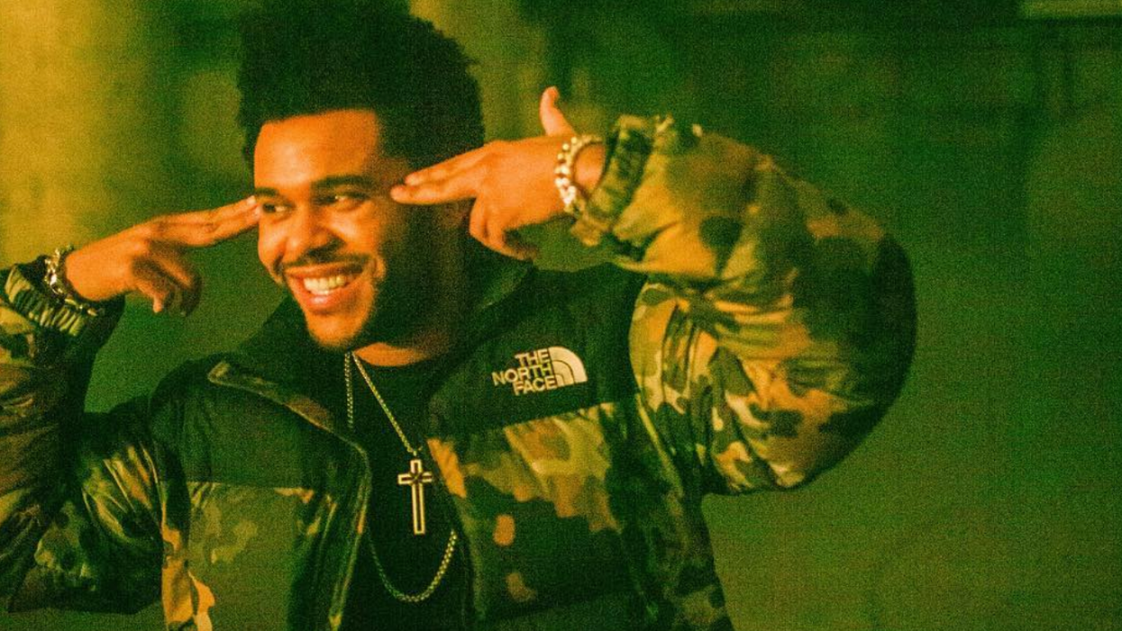The Weeknd Was Seen For The First Time In Months & Looks Completely Unrecognizable