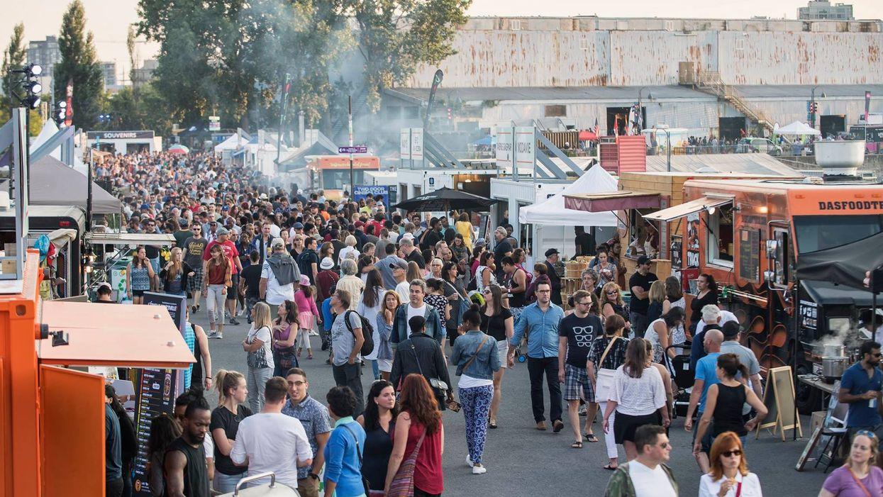 Le plus gros festival de bouffe se passe à Montréal cette semaine