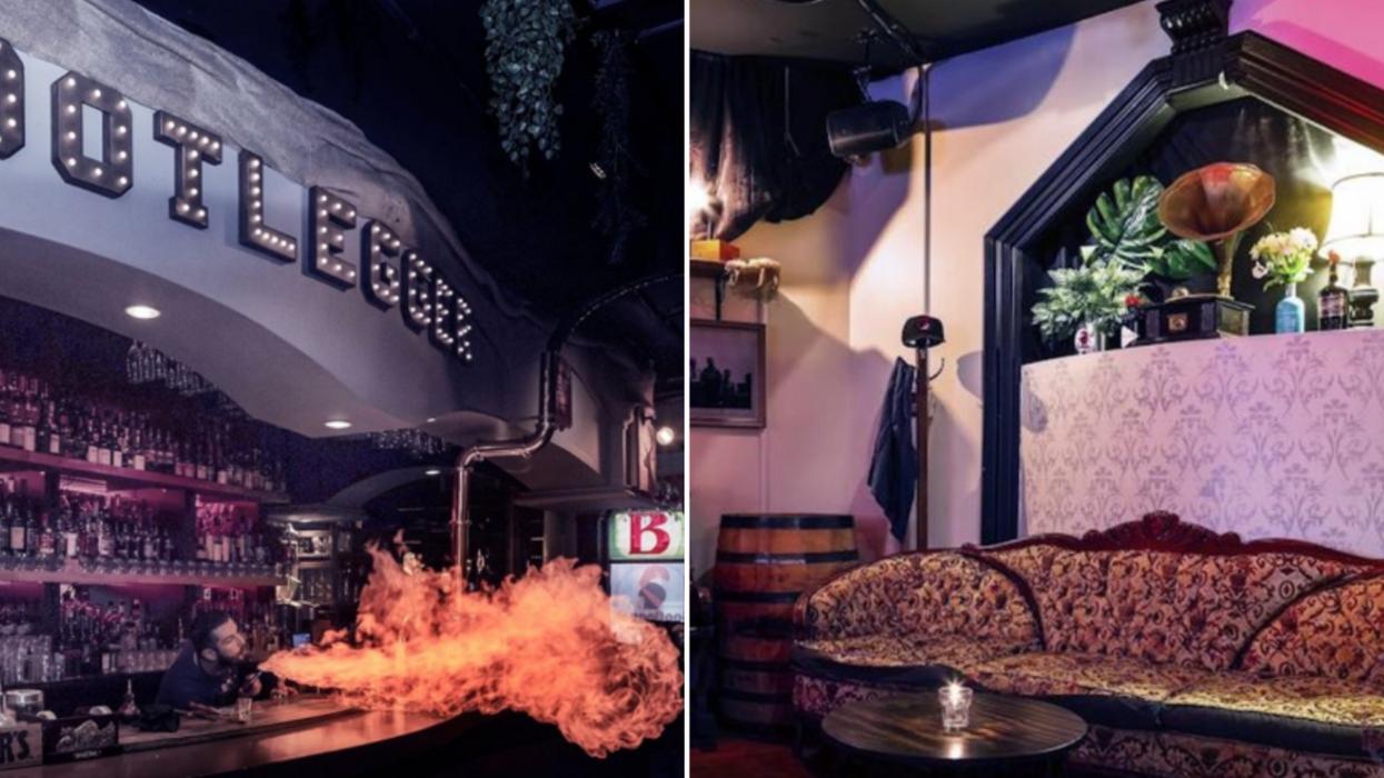 Ce bar style «speakeasy» à Montréal a plus de 277 sortes de whisky et des barmans épiques