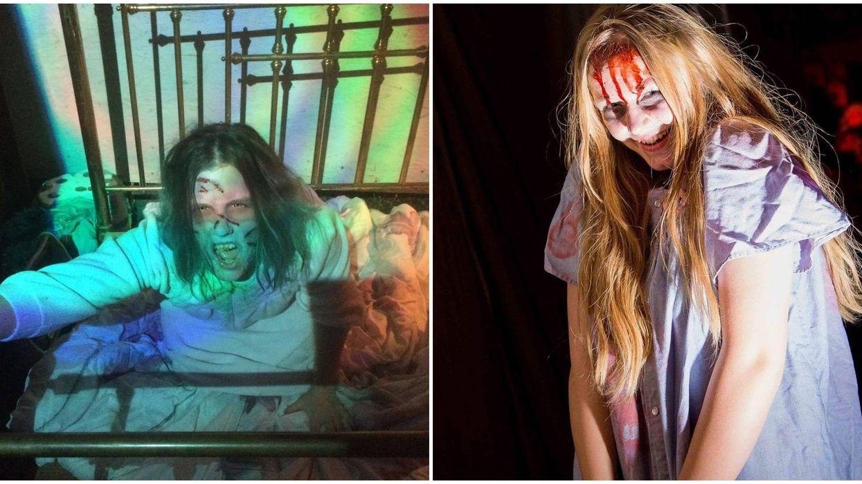 Calgary's Terrifying Haunted House Traps You Inside A Sanitarium This Fall