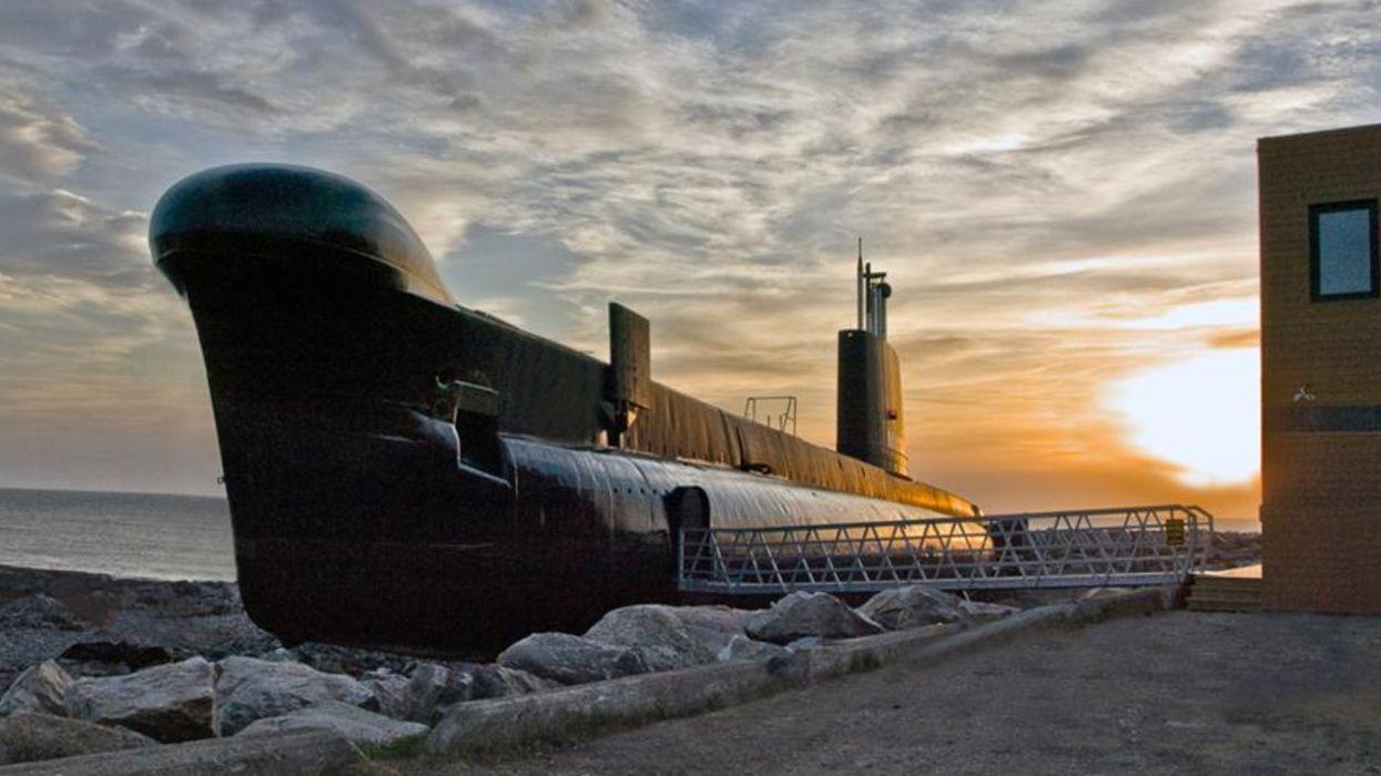 Tu peux dormir dans un sous-marin à 6 heures de Montréal et c'est vraiment impressionnant