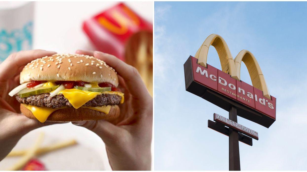 McD's Free Cheeseburgers