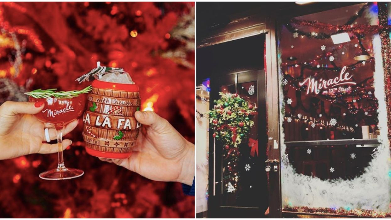 A Magical Christmas-Themed Bar Is Coming To Toronto To Make Your Winter Special