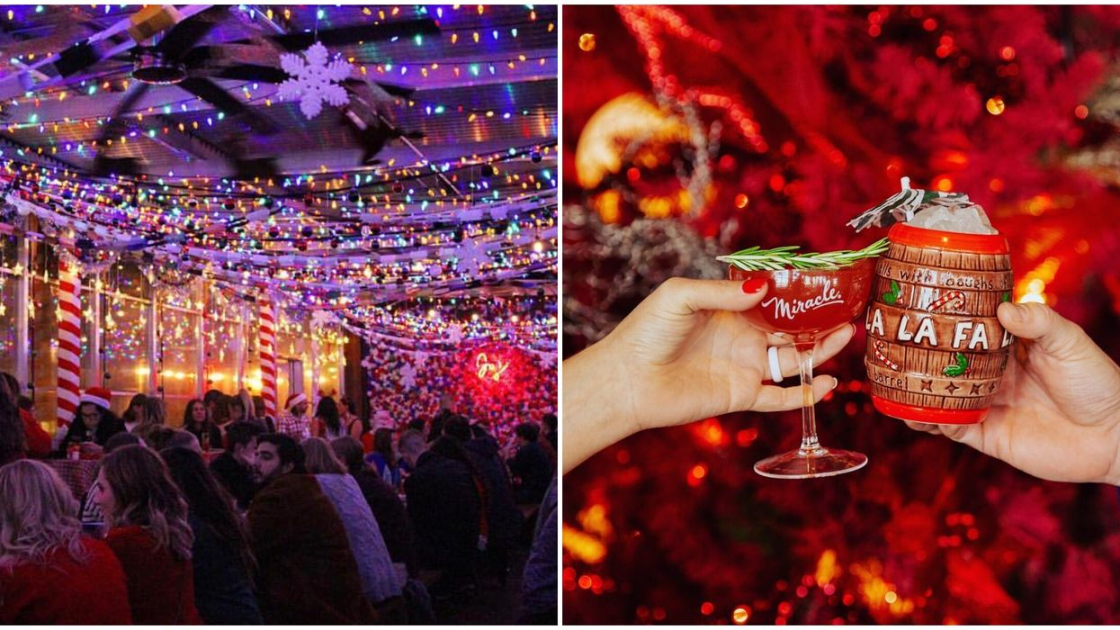 A Magical Christmas-Themed Pop-Up Bar Is Coming To Ottawa This Winter And It's Everything