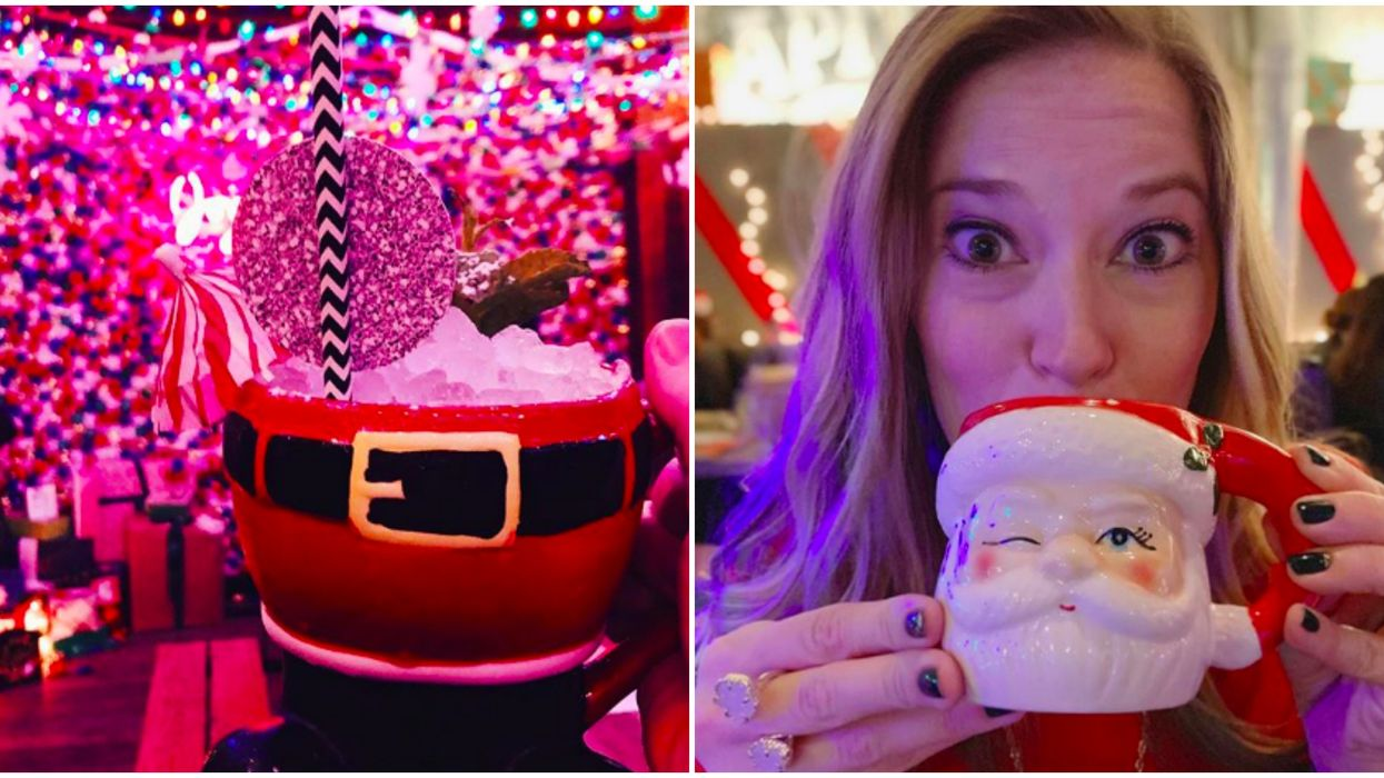 Christmas Pop-Up Bars In Atlanta Are Boozy Winter Wonderlands