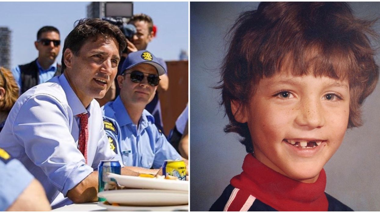 Young Justin Trudeau Photos