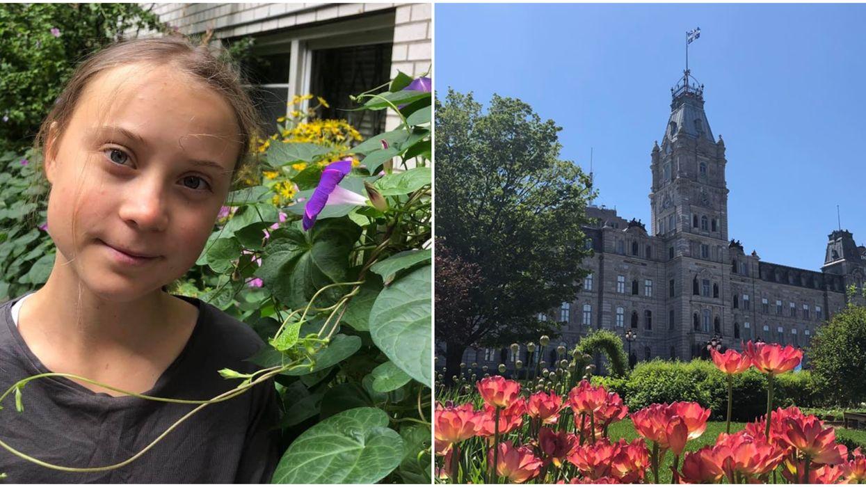 Greta Thunberg est invitée à l'Assemblée nationale du Québec et ça fait réagir