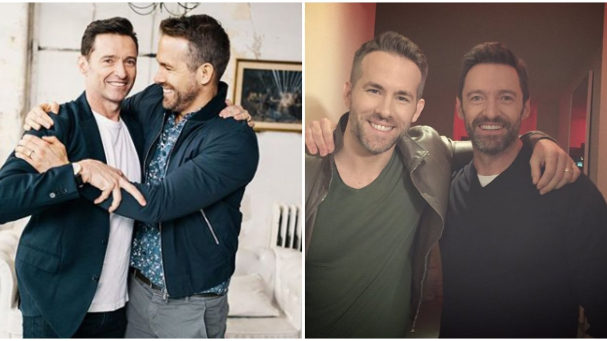 Ryan Reynolds & Hugh Jackman's Bromance Returns With The Sappiest Instagram Post Ever