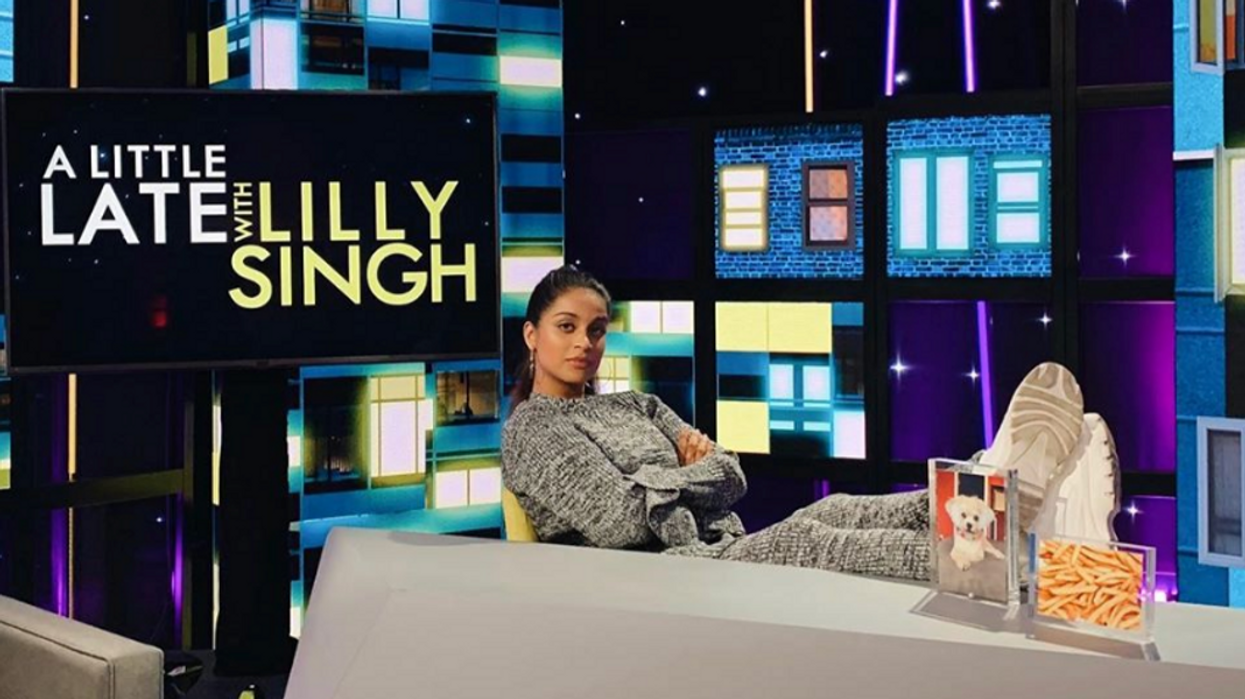 Lilly Singh's New Talk Show Will Stream Live On YouTube Before It's Television Premiere