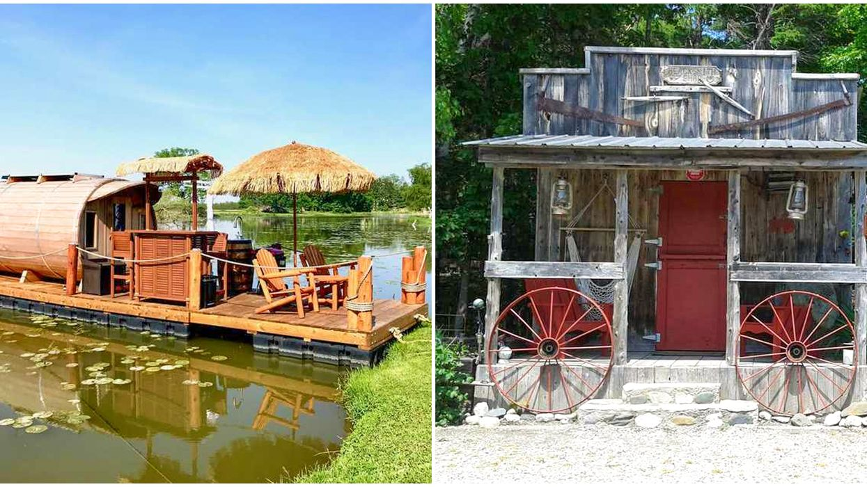 11 Airbnbs In Canada That Are Weird & Wonderful For Your Bucket List