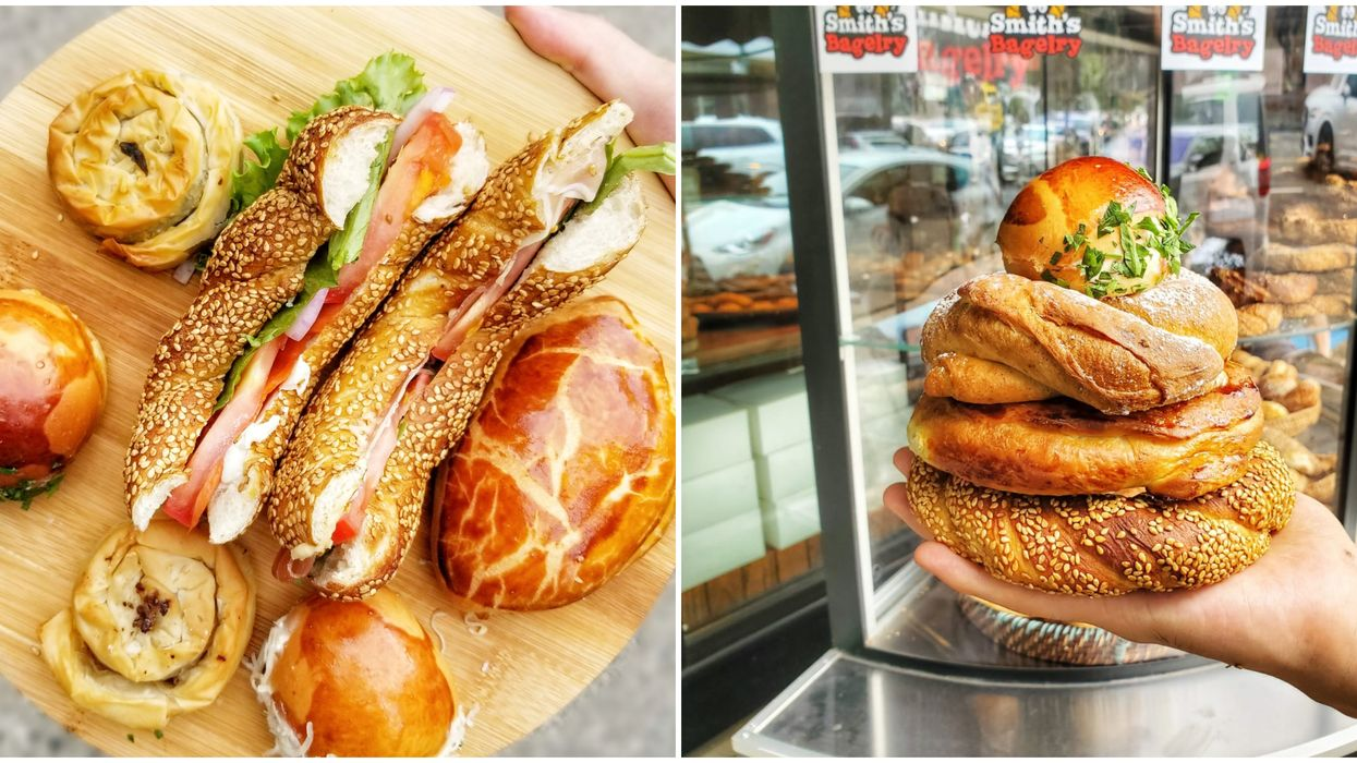 You Need To Try This Insanely Delicious Turkish Bagel & Pastry Shop In Vancouver