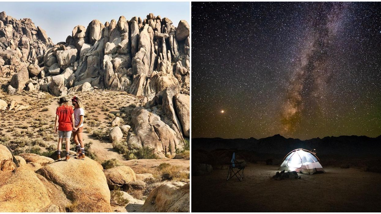 These Crazy-Looking California Hills Will Make You Feel Like You're On Mars