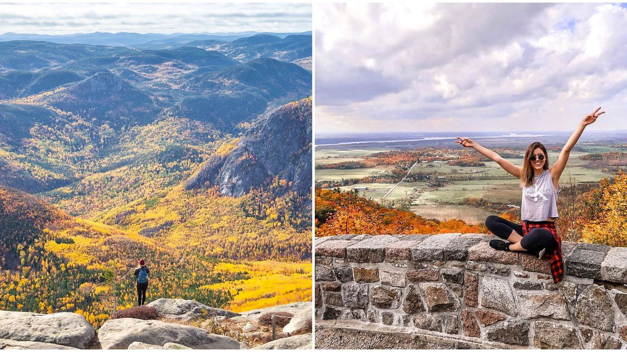 9 Road Trips Around Quebec That Will Give You All The Fall Views
