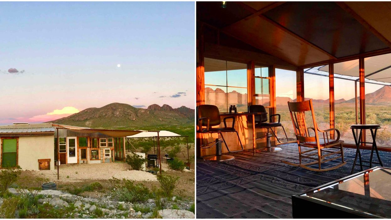 This Texas Airbnb Is Near Big Bend