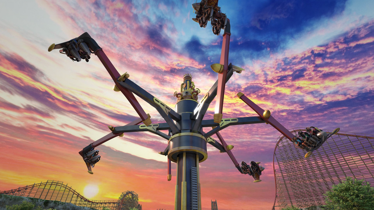 Six Flags Fiesta Texas Is Getting A Thrilling New Ride