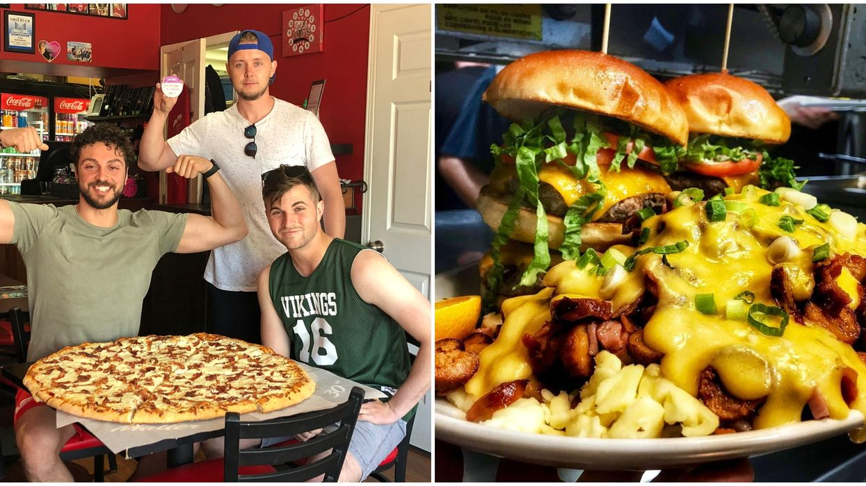 Eating Challenges In Ottawa That Reward You For Stuffing Your Face