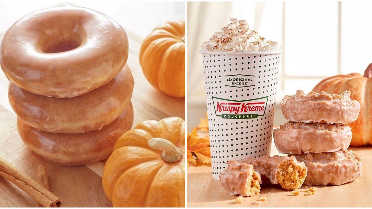Krispy Kream annonce le retour de ses fameux beignes pumpkin spice