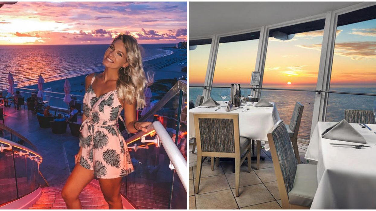 Spinning Bistro And Rooftop Bar Level 11 In St Pete Has The Best Sunset Views