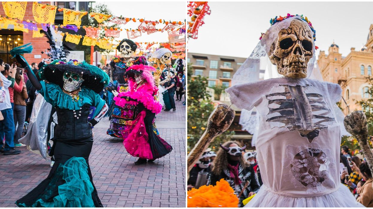 Day Of The Dead Is Being Celebrated in San Antonio This Fall