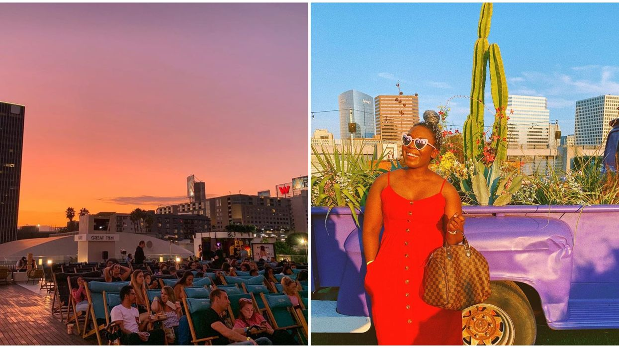 This Rooftop Movie Theater In San Diego Is The Best Place To Watch These Cult Classics