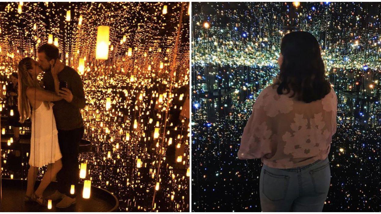 Cette exposition de miroirs à l'Institut d'art contemporain de Boston vaut le road trip