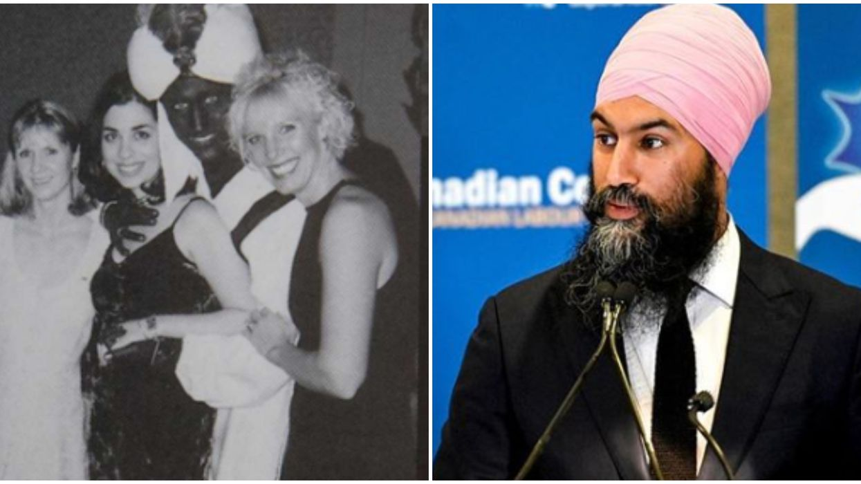 Justin Trudeau Brown Makeup Photo Apology Gets Response From Jagmeet Singh