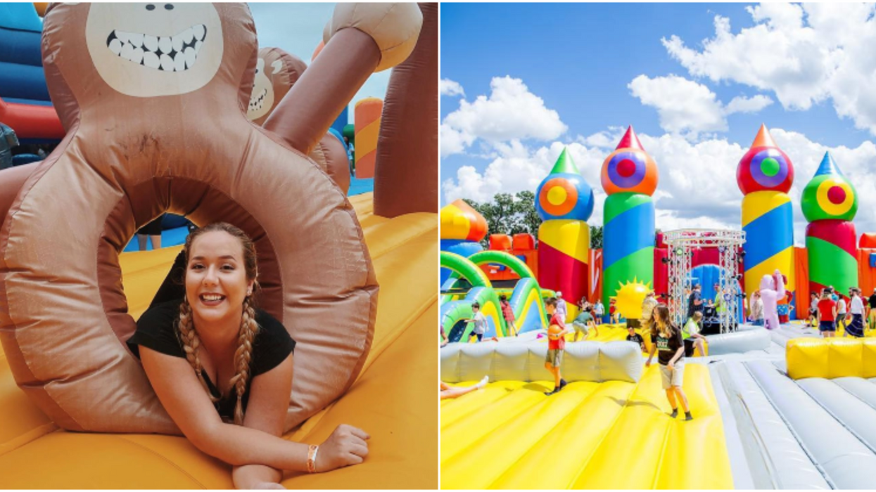 Houston Is Getting An Inflatable Amusement Park This November