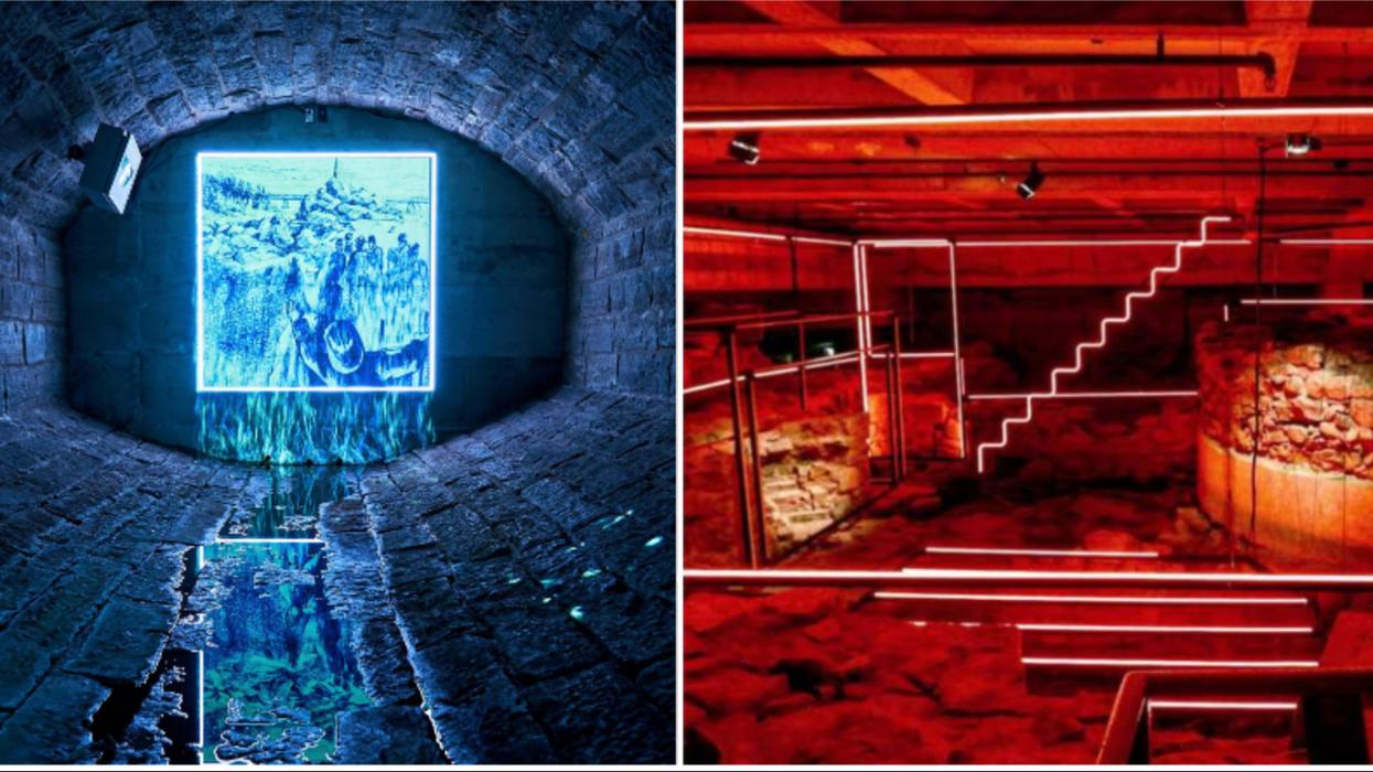Tu devras t'évader des tunnels souterrains de Montréal dans ce jeu d'évasion d'Halloween