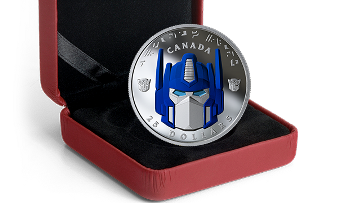 Royal Canadian Mint's Transformer Coins Actually Transform