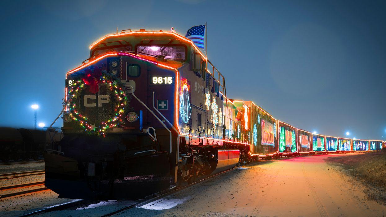 Le magique Train des Fêtes revient au Québec cette année et tu ne veux pas le manquer