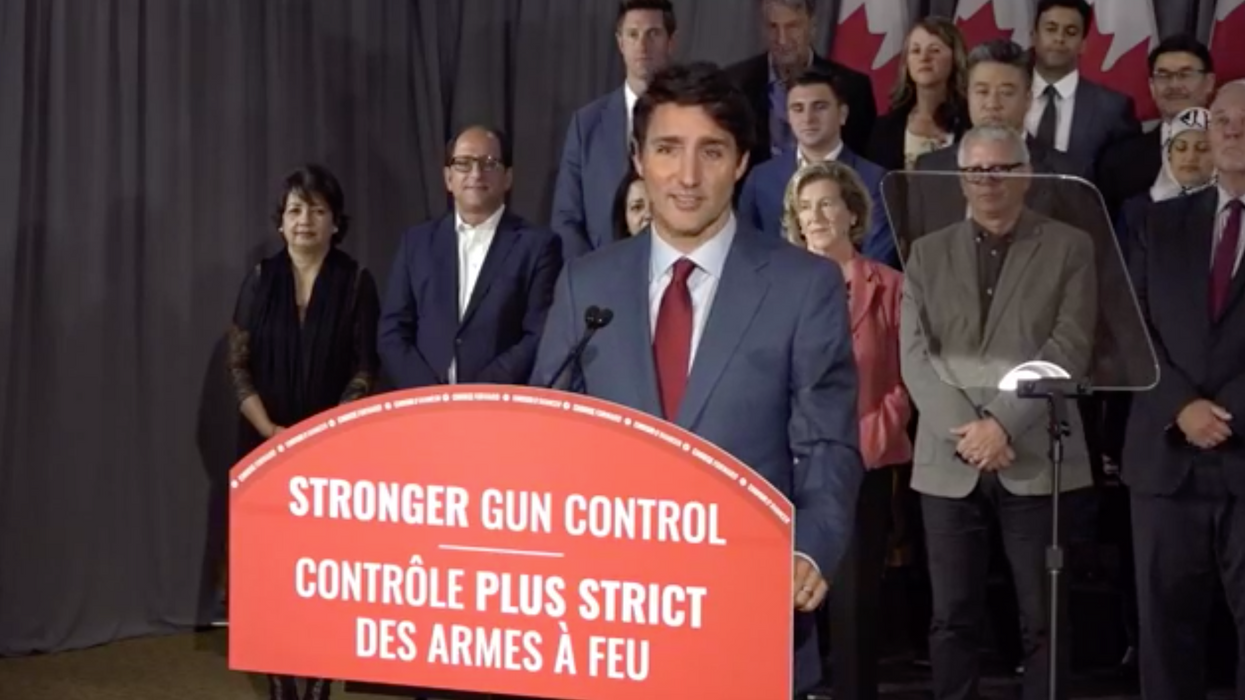 Trudeau's Gun Ban Comes As He Says Thoughts & Prayer's Aren't Enough