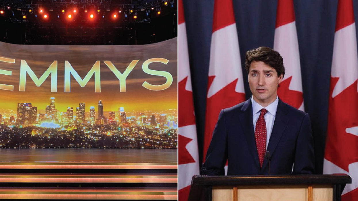 Twitter Is Ripping Justin Trudeau For His Emmys Tweet