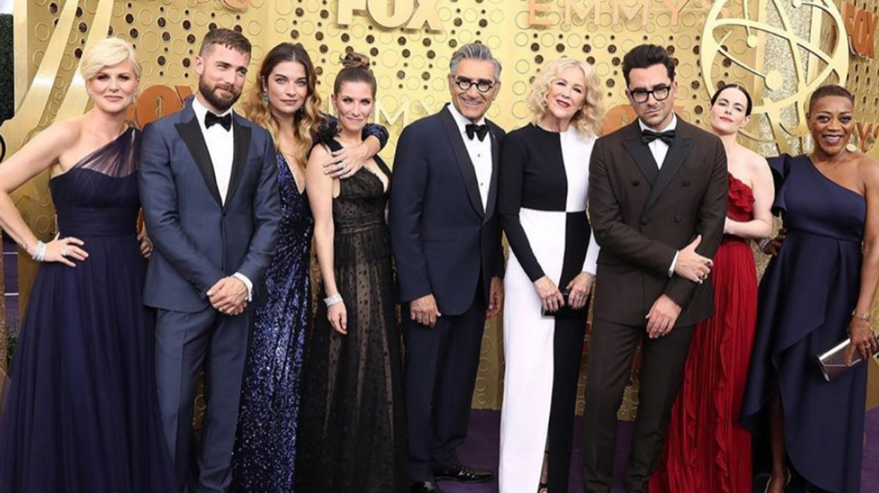 """Dan Levy Discussed A Potential """"Schitt's Creek"""" Spinoff At The Emmys Last Night"""