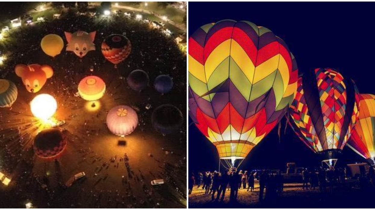 Hot Air Balloon Ride In Orlando For Only $20 At Orlando Balloon Glow