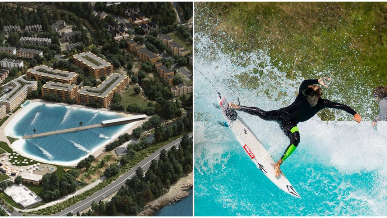 Squamish Surf Park Proposed For 2025 Would Be The First Of Its Kind In Canada