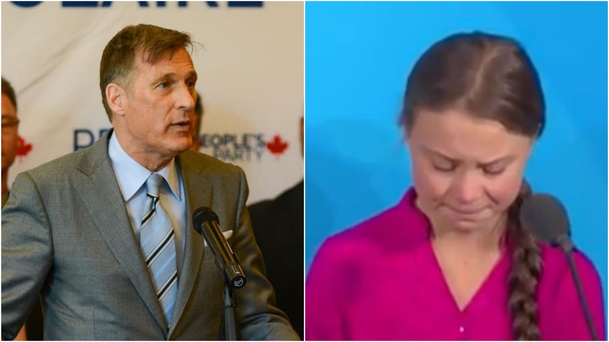 Maxime Bernier's Greta Thunberg Tweet Is Calling Out The Young Activist Again