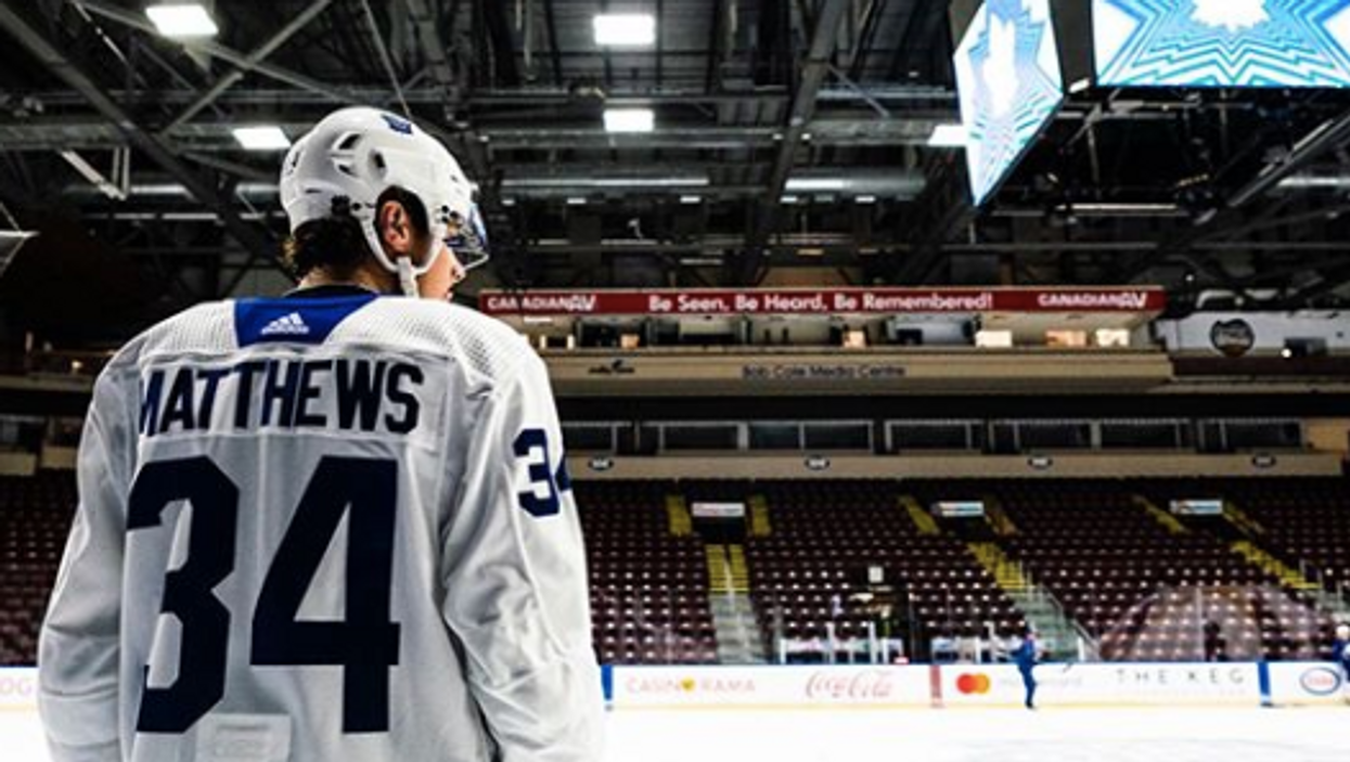 Auston Matthews Speaks Out About His Disorderly Conduct Charge
