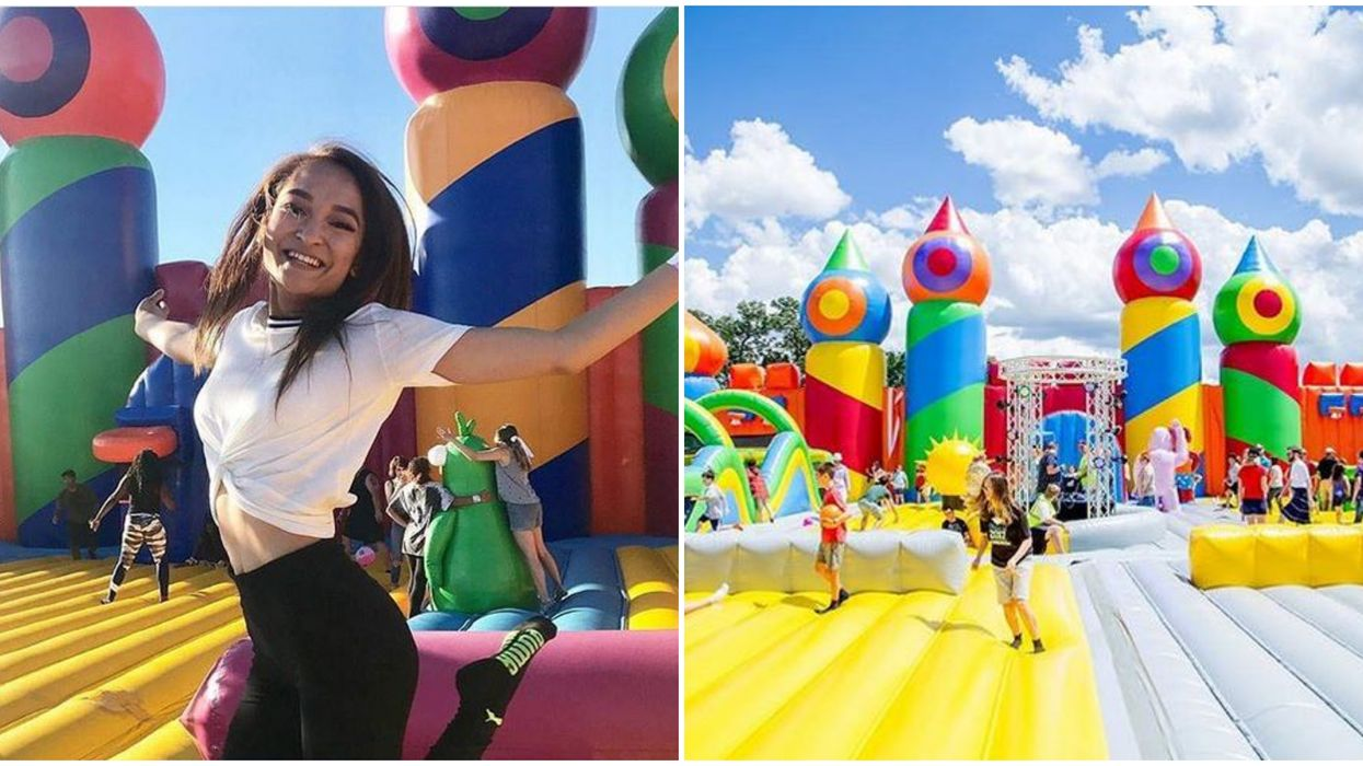 World's Biggest Inflatable Theme Park For Adults Is Coming To Orlando