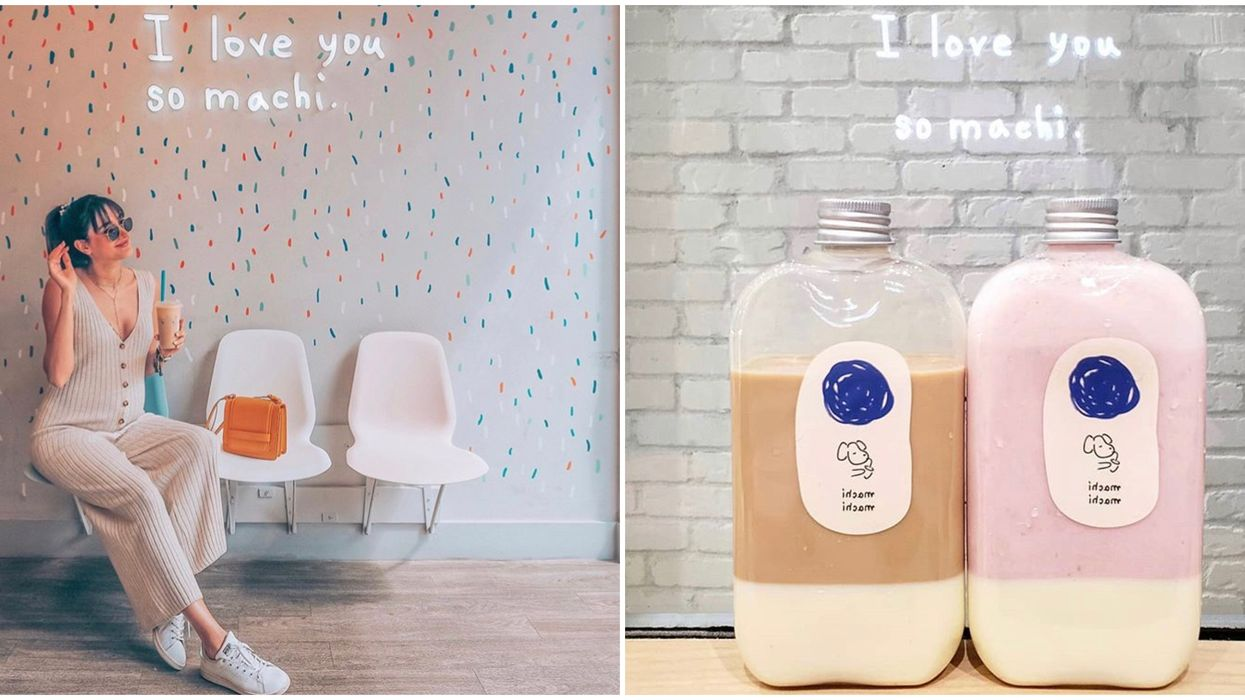 Toronto's Machi Machi Tea Is Canada's First Ever Location And It Looks Adorable