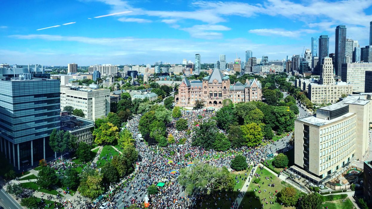 9 Aerial Shots Of Canada's Climate Marches That Are Absolutely Breathtaking (PHOTOS)